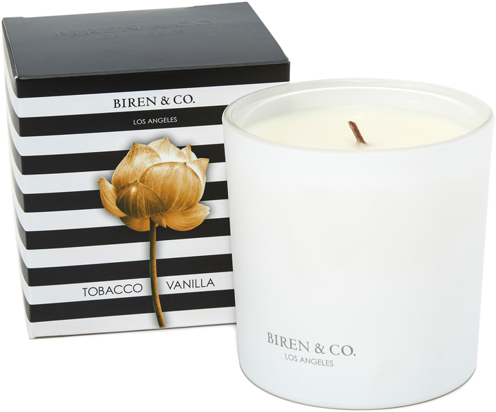 Biren & Co. Tobacco Vanilla Candle