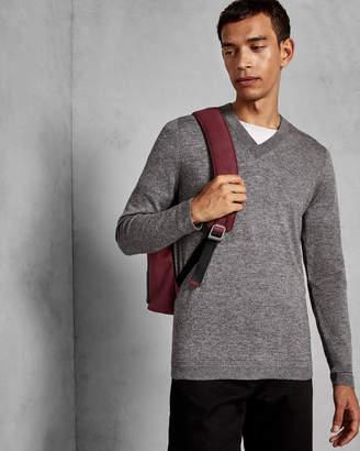 Ted Baker NOEL V-neck wool jumper