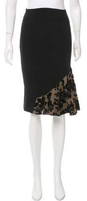 Mary Katrantzou Cladown Knee-Length Skirt w/ Tags