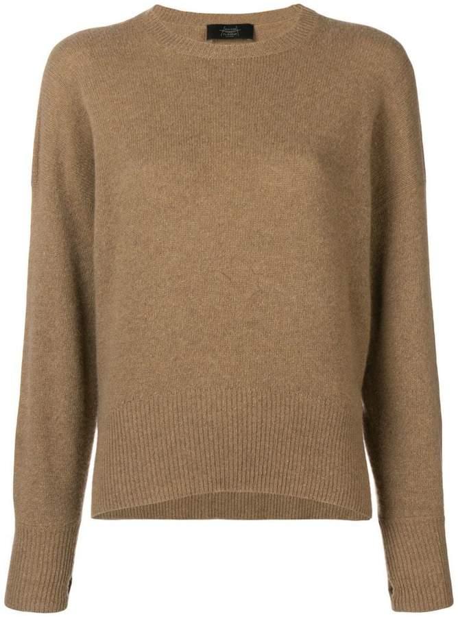 Maison Flaneur crew neck sweater