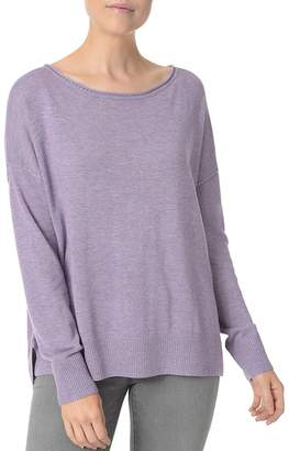 NYDJ Exposed Seam High/Low Sweater