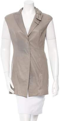 Brunello Cucinelli Fitted Leather Vest w/ Tags