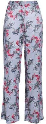 Dagmar House Of Vienna Floral-Print Crepe Wide-Leg Pants