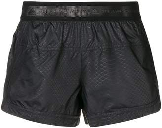 adidas by Stella McCartney elasticated waist running shorts