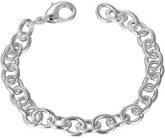 N. Aokarry Women Men Wedding Bracelet Bangle Copper Rolo Chain Length 8 in