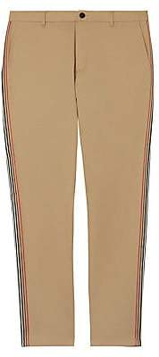 Burberry Men's Striped Taping Pants
