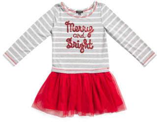 Little Girls Merry And Bright Tutu Dress