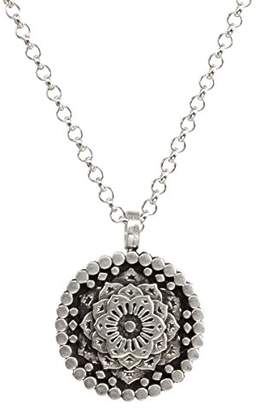 Dogeared Women Silver Necklace of Length 45.72cm VS0708-IN