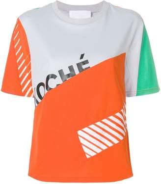 Koché colour block logo T-shirt