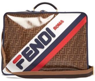 Fendi Mania Coated Canvas Suitcase - Womens - Brown Multi