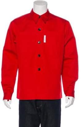 Xander Zhou 2016 Button-Up Shirt Jacket w/ Tags