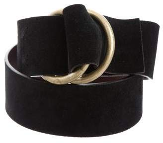 Marc Jacobs Marc by Suede Waist Belt