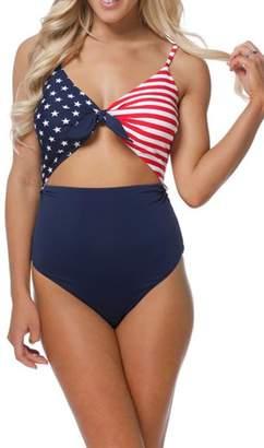 beach joy American Flag Swimsuit