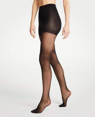 Ann Taylor Dot Tights