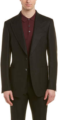 Tom Ford Shelton 2Pc Wool, Linen, & Mohair-Blend Suit With Flat Pant