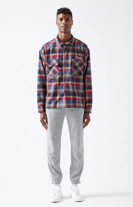 Not of this Earth Hunting Plaid Flannel Shirt