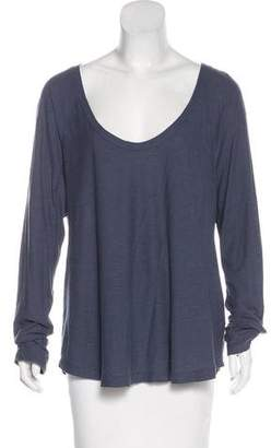 James Perse Knit Long Sleeve Top
