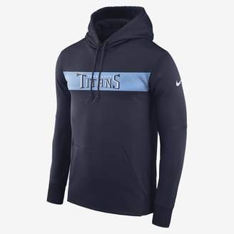 Nike Dri-FIT Therma (NFL Titans) Men's Pullover Hoodie