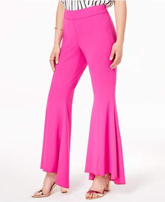 INC International Concepts Inc Petite Tulip-Hem Flare Pants