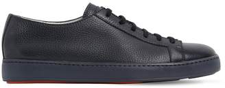 Santoni Soft Leather Sneakers