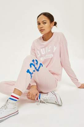 Juicy Couture Varsity Long Sleeve T-Shirt by Juicy