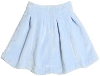 Venera Arapu Pleated Chenille Round Skirt