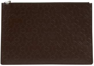 Givenchy Brown Leather Clutch Bag