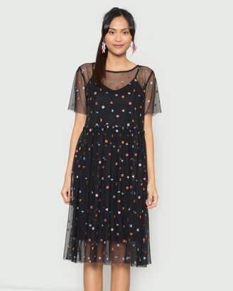 gorman Pulling Shapes Mesh Dress