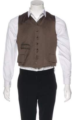 Dries Van Noten V-Neck Suit Vest