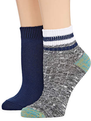 MIXIT Mixit 2 Pair Quarter Socks - Womens