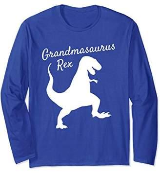 Grandmasaurus Rex Long Sleeve Shirt Family Dinosaur Pajamas