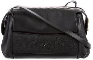 Balenciaga Balenciaga Stingray-Embellished Crossbody Bag