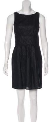 Magaschoni Sleeveless Mini Dress