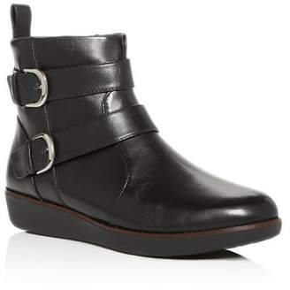 FitFlop Women's Laila Wedge Booties