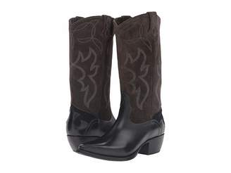 Frye Shane Embroidered Tall Cowboy Boots
