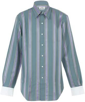 Acne Studios Code wax stripe shirt