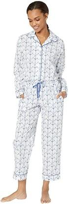 The Cat's Pajamas Anchor Pajama Set
