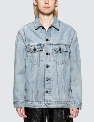 Alexander Wang Daze Bleach Denim Jacket