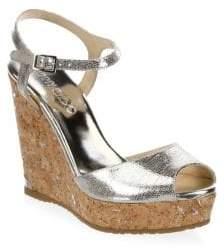 Jimmy Choo Perla Wedge Sandals