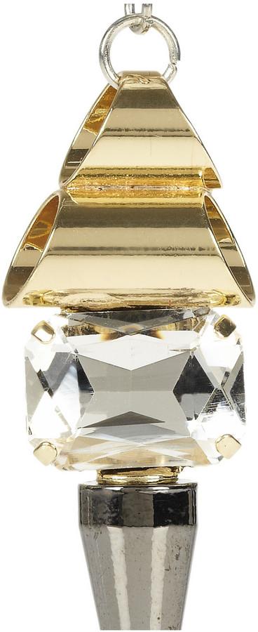 Noir Crystal earrings