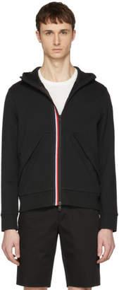 Moncler Black Zip-Up Hoodie