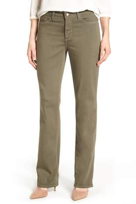 NYDJ Marilyn Stretch Twill Straight Leg Pants (Petite)