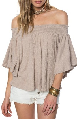 Women's O'Neill Sahara Off The Shoulder Top $46 thestylecure.com