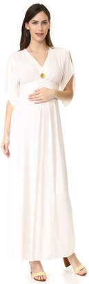 Ingrid & Isabel Kimono Maxi Dress