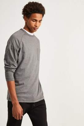 French Connenction Plain Slub Long Sleeve T-Shirt