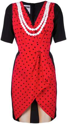 Moschino illusion print dress