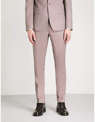 The Kooples Tapered wool-mix trousers