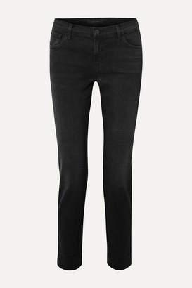 J Brand Johnny Boyfriend Jeans - Black