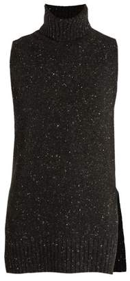 ADAM by Adam Lippes Sleeveless wool and cashmere-blend sweater