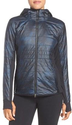 Women's New Balance Heat Hybrid Jacket $200 thestylecure.com